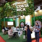Estande da Costa Rica