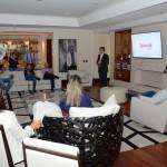 Evento da Visual e Special Tours aconteceu na suíte presidencial do Hotel Renaissance, em São Paulo