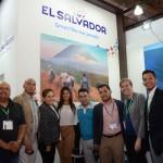 Expositores de El Salvador