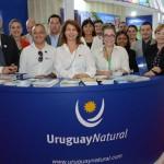 Expositores do Uruguai