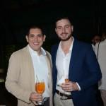 Fabiano Camargo, da Signature, e Daniel Ambrosio, da Premium Chaters