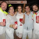 Fabiano Simm, da Schultz, Gerusa Pastuch, da Europamundo, com Alessandra Moro, Luciano Bonfim e Roberto Lastoria, da Schultz