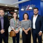 Fabio Luis, Ana Paula Flores, Flávia Didomenico e Ramon Fernandes, de Santa Catarina