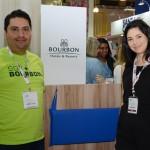 Fernanando Lopes e Rosangela Almeida, do Bourbon Resorts