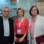 Fernando Brandão, da Salvador Destination, Caroline Putnoki, da Atout France, e Jean-Philippe Pérol, da Cap Amazon