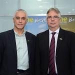 Fernando Brandão e Roberto Duran, diretor executivo e presidente doSalvador Destination