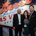 Fernando Hurtado, Bia Di Pietro e Zachary Smith, do Las Vegas CVB