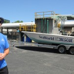 Fizemos um passeio pelos bastidores do resgaste de animais realizado pelo SeaWorld