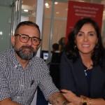 Geninho Goes e Patricia Schaebler, da BNT Mercosul