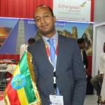 Girum Abebe, gerente da Ethiopian Airlines para a América Latina