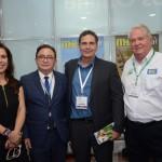 Gisele Lima, da Promo, Manoel Linhares, da ABIH Nacional, Sergio Flores, do MTur, e Roy Taylor, do M&E