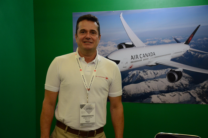 Gleyson Ranieri, diretor Comercial da Air Canada no Brasil