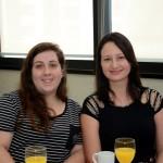 Graziela Moreira, da Iki Viagens, e Mirella Torres, da Maiorca Turismo