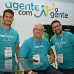 Guilherme Machado, Roberto Garbin e Bruno Seaphin, da Ancoradouro