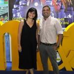 Guilia Martins e Guilherme Caralhal Buratta, da Blanctour Operadora