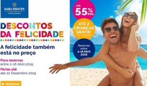 """Com redução de até 55% nas tarifas, Bahia Principe retoma """"Descontos da Felicidade"""""""