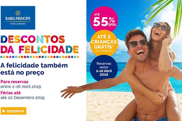 Rede hoteleira oferece férias no Caribe a preços imbatíveis e oferta vai até 16 de abril