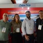 Hebert Donizete, Daniela Monnerat, Fabricio Amaral, e Lucas Alves, de Cabo Frio