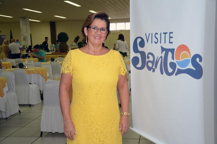 Inês Bellini, vice-presidente do Visite Santos
