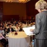 A diretora da Atout France da América do Sul, Caroline Putnoki divulgou dados sobre o enoturismo na França e principalmente em Borgonha