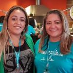 Iracilene Costa (Maratur São Luiz –MA) e Angela Rodrigues (Ancoradouro Maranhão)