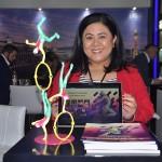 Jacinta Jose, do Cirque do Soleil