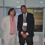 Jean-Philippe Perol, da Cap Amazon e Emile Louisy, do escritório de turismo de Saint Martin