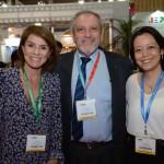 Jeanine Pires, da Pires e Associados, João Araújo, da João Araújo Promoção e Venda, e Claudia Shishido, da Air Europa