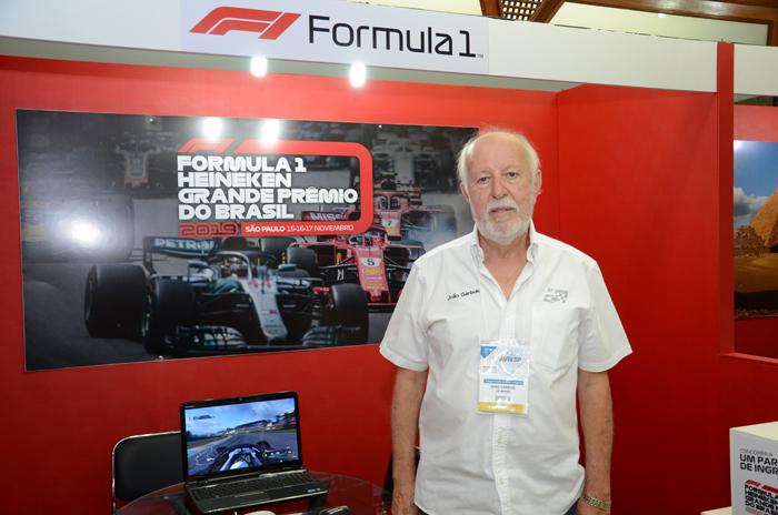 João Garbuio, da GP Brasil de Fórmula 1