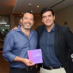 Jorge Souza, da Orinter, e Dante Campos, da Braztoa