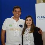 José Macário e Vanessa Yamada, do Club Med