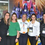 Joyce Cordeiro CBS MARKETING SERVICES, Patrícia Rouston, da Hertz_Dolla_Thrifty, Rosa Masgrau, do M&E, e Rafaela Gross Brown, do Visit Florida