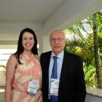 Juliana Assumpção e Sebastião Pereira, da Aviesp