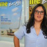 Juliana Vital, general manager do Voopter
