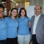 Karen Souza, Dani Nunes, Cuca Deri e Sérgio Paraíso, do Summerville Beach Resort