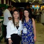 Kelly Castange e Juliana Assumpção, da Aviesp