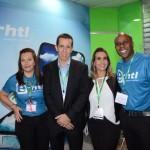 Kelly Moraes, Flavio Louro, Juliana Tamae, e Fabio Bastos, da E-htl