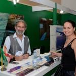 Khaled Fayez, da Lynden, e Ingrid, da Giramundo Turismo