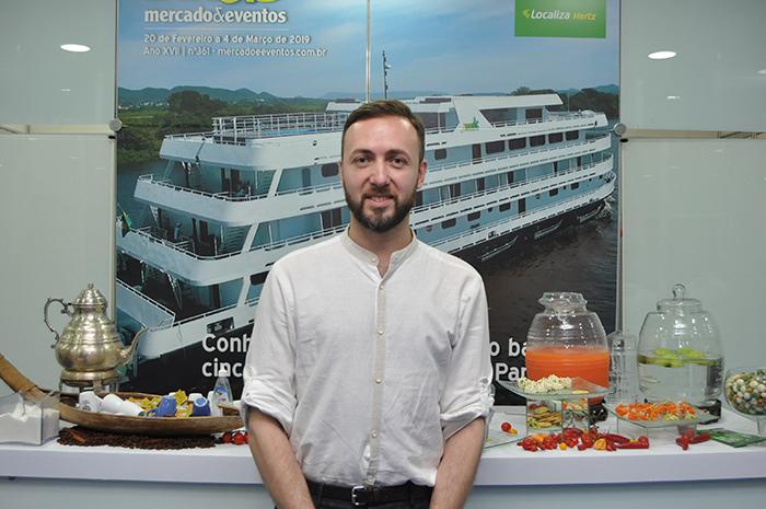 Konstantin Akopyan, do Comitê de Turismo da cidade de Moscou