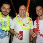Leonardo Feitosa, Luiz Martins e Leomar Fernandes, da TZ Viagens