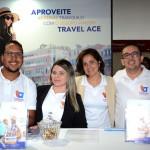 Leonardo Santos, Priscila Sousa, Suzana Muniz e Ricardo Ribeiro, da Travel Ace