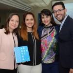 Lilian Tedeschi, Caroline Menossi, Mérithy Fraga e Henrique Brasil, da Aerolíneas Argentinas
