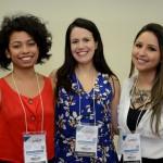 Luana Matsumoto, Juliana da Assumpção e Kelly Castange, da Aviesp