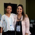 Luana Matsumoto e Kelly Castange, da Aviesp