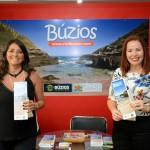 Luciana Fajardo, da secretaria de Turismo de Búzios, e Suele Cordeiro, do Búzios CVB