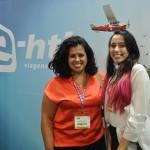 Luciana Lima e Andressa Bruna Melo Guimarães, da Rede Tauá de Hotéis