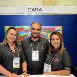 Luciana Moraes, Cleiton Francisco e Roberta Fogaça, do Mavsa