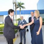 Luciane Leite recebe o ministro do Turismo, Marcelo Alvaro Antonio