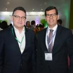 Luiz Fernando Moraes, da Cunha Vaz, e Claudio Tinoco, da Semtur Salvador
