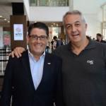 Luiz Teixeira, da Delta, e Sylvio Ferraz, da CVC Corp